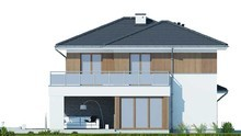 Прекрасный жилой дом с просторной террасой