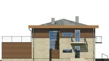 Проект модного двухэтажного особняка с гаражом