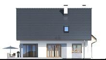 Двухэтажный особняк с мансардой и гаражом на два авто