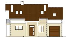 Планировка живописного мансардного дома с роскошным декором