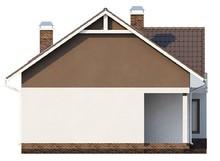 Проект дома с дневной зоной