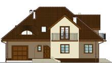 Проект живописного дома с оригинальным экстерьером