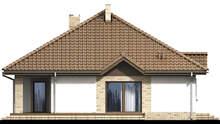 План уютного жилого одноэтажного дома с гаражом