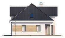 Проект стильного дома с гаражом для двух автомобилей