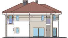 Прекрасный двухэтажный дом для большой семьи с четырьмя спальнями