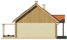 Проект уютного дома с дополнительной комнатой