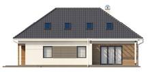 Проект дома с гаражом и дополнительной ночной зоной