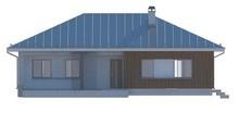 Проект загородного коттеджа с многоскатной крышей