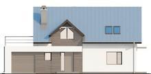 Проект классического коттеджа с террасой над гаражом