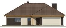 Проект дома с гаражом для двух авто