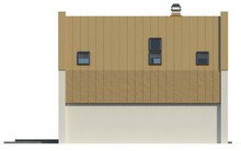 Проект современного недорогого и уютного светлого дома в России