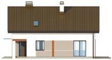 Проект экономного небольшого дома с мансардой