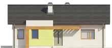 Проект небольшого дачного частного одноэтажного классического коттеджа