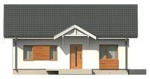 Проект одноэтажного коттеджа в классическом стиле