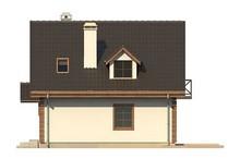 Проект эко дома с гаражом