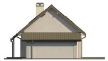 Проект классического коттеджа с гаражом