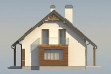 Проект дома с гаражом