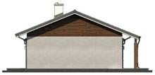 Проект комфортного уютного одноэтажного коттеджа с гаражом