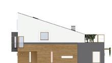 Современный стильный дом на две семьи