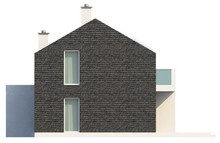 Проект современного дома для узкого участка