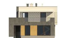 Проект современного двухэтажного дома с плоской крышей