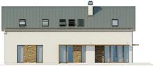 Проект просторного коттеджа с мансардой и гаражом