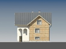 Проект трехэтажной усадьбы в классическом стиле
