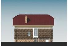 Проект классического дома с цокольным этажом