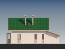 Проект каркасного дома с гаражом