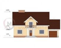Проект классического дома с практичной планировкой