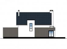 Загородный коттедж с современным фасадом