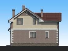 Проект необычного 2х этажного практичного дома