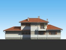 Проект двухэтажного роскошного особняка до 300 m²