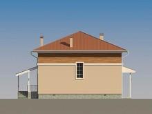 Проект современного квадратного дома со всеми удобствами