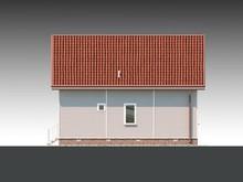 Готовый проект стильного загородного мансардного дома
