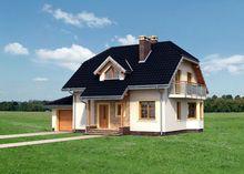 Небольшой особнячок 180 m² с мансардой