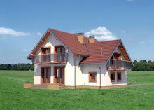 Изысканный двухэтажный дом с площадью 160 m²