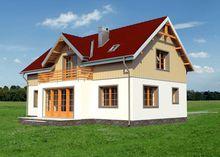 Современный особняк с четырьмя спальнями