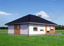 Стильное небольшое строение на четыре спальни