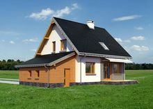Стильный загородный дом с пятью красивыми комнатами