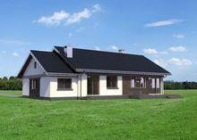 Проект дома для узкого участка 18 на 10