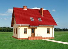 Проект мансардного дома 140 m²