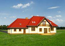 Проект элегантного дома с шестью спальнями
