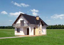 Оригинальный коттедж с площадью 120 m²