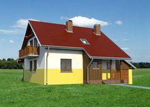Неповторимый загородный коттедж с гаражом и уютной верандой