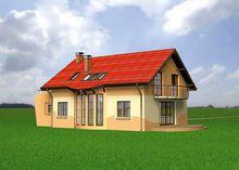Проект строительства уютного мансардного коттеджа 170 m²