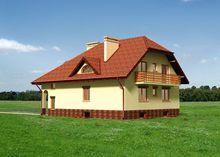 Архитектурный проект стильной виллы с площадью 400 m²