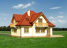 Великолепный загородный дом с хорошей планировкой
