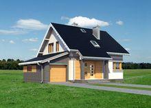 Стильный загородный дом с интересным дизайном
