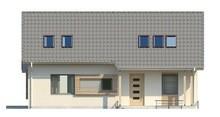 Проект классического дома с кабинетом и большой ванной
